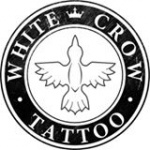 White crow tatto